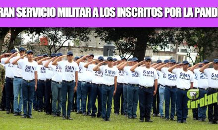 SERVICIO MILITAR SERÁ LIBERADO A TODOS LOS INSCRITOS, DEBIDO A LA PANDEMIA