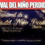 EL FESTIVAL DEL NIÑO PERDIDO 2020.