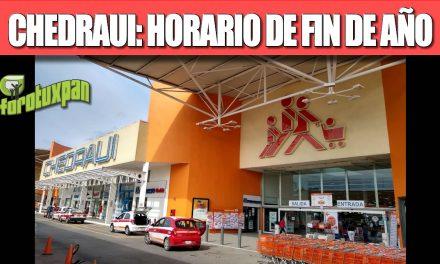 CHEDRAUI: HORARIO DE FIN DE AÑO