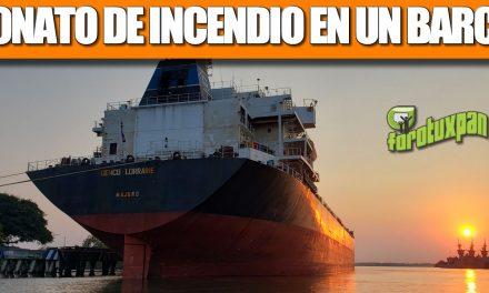 CONATO DE INCENDIO EN EL «GENCO LORRAINE»