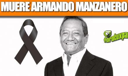 MUERE ARMANDO MANZANERO
