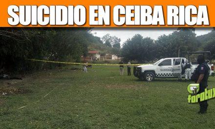 SUICIDIO EN CEIBA RICA