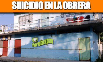 SUICIDIO EN LA OBRERA