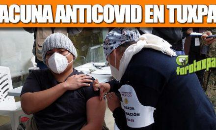 Vacuna ANTICOVID en Tuxpan