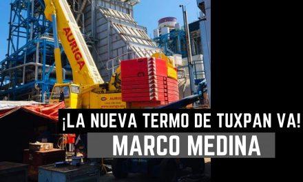 ¡La nueva Termo de Tuxpan  va! Marco Medina