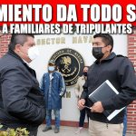GOBIERNO DE TUXPAN DA TODO SU APOYO A FAMILIARES DE TRIPULANTES DE BARCO ATUNERO QUE NAUFRAGÓ