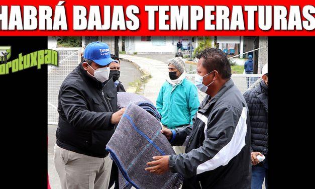 PROTÉJANSE: PIDE EL GOBIERNO MUNICIPAL A LA POBLACIÓN. HABRÁ BAJAS TEMPERATURAS
