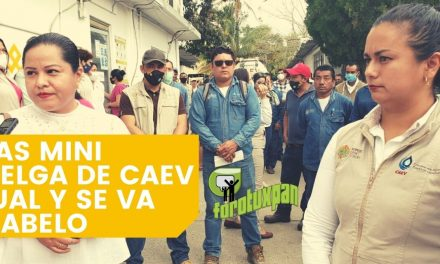 TRAS MINI HUELGA DE CAEV IGUAL Y SE VA CHABELO