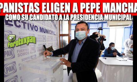 PANISTAS ELIGEN A PEPE MANCHA COMO SU CANDIDATO A LA PRESIDENCIA MUNICIPAL