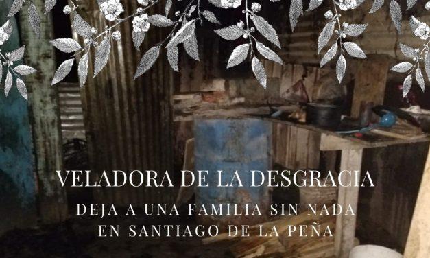 VELADORA DE LA DESGRACIA
