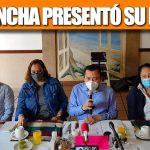 PEPE MANCHA PRESENTÓ LA PLANILLA QUE SE REGISTRO ANTE EL CEN DEL PAN POR LA COALISIÓN «VERACRUZ VA»