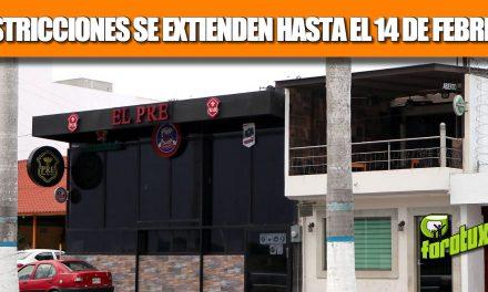 RESTRICCIONES PREVENTIVAS EN COMERCIOS LOCALES SE EXTIENDEN HASTA EL 14 DE FEBRERO
