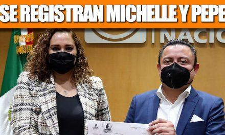 """SE REGISTRAN PEPE MANCHA Y MICHELLE COMO PRE CANDIDATOS DE """"VERACRUZ VA"""""""