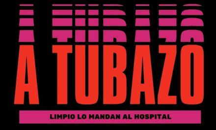 ¡A TUBAZO LIMPIO LO MANDAN AL HOSPITAL!