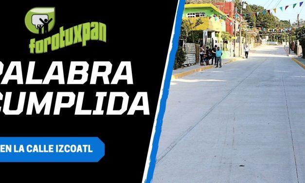 PALABRA CUMPLIDA EN LA CALLE IXCOATL
