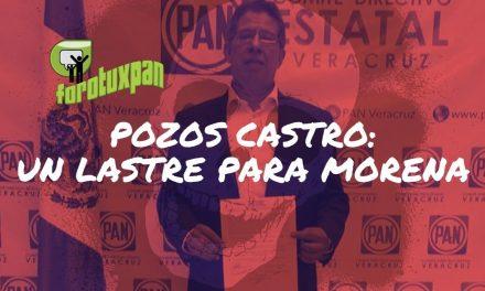 José Manuel Pozos Castro: un «lastre» para MORENA en Tuxpan