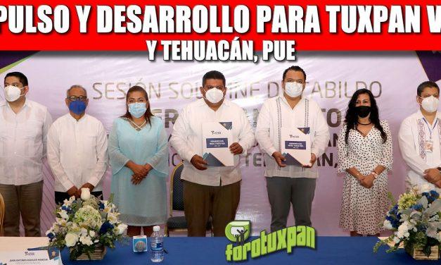 IMPULSO Y DESARROLLO PARA TUXPAN VER. Y TEHUACÁN , PUE