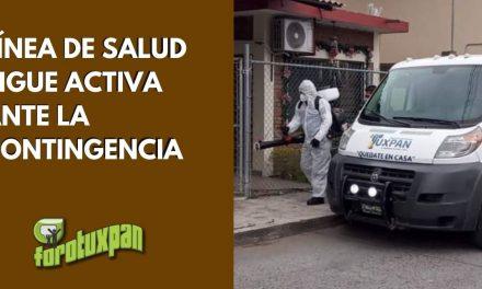 LÍNEA DE LA SALUD SE MANTIENE ACTIVA Y APOYANDO ANTE LA CONTINGENCIA