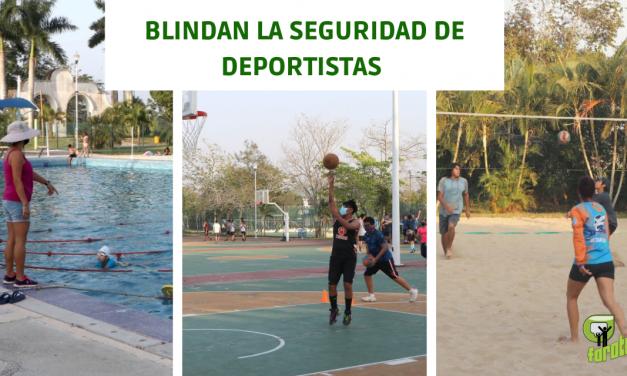 BLINDAN LA SEGURIDAD DE DEPORTISTAS