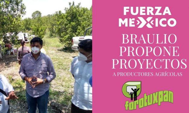 BRAULIO PROPONE PROYECTOS DE INTEGRACIÓN DE PRODUCTORES CITRÍCOLAS PARA ACCEDER AL MERCADO DE EXPORTACIÓN