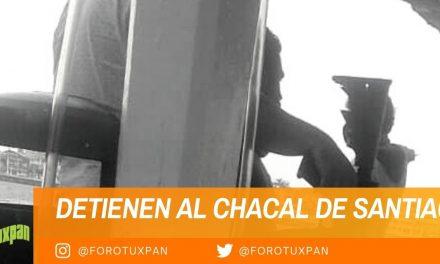 DETIENEN AL CHACAL DE SANTIAGO