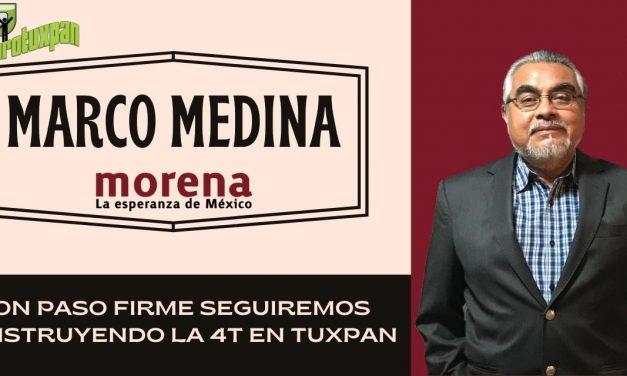 CON PASO FIRME SEGUIREMOS CONSTRUYENDO LA CUARTA TRANSFORMACIÓN EN TUXPAN