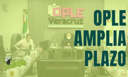 OPLE AMPLIA FECHA DE POSTULACION PARA CANDIDATOS A PRESIDENTE MUNICIPAL
