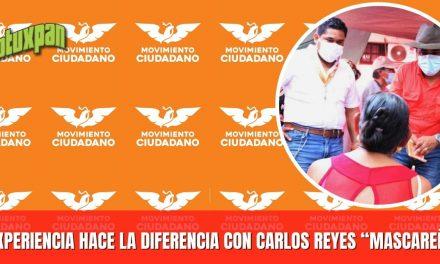"""LA EXPERIENCIA HACE LA DIFERENCIA CON CARLOS REYES """"MASCAREÑAS"""""""