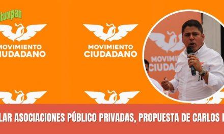 REGULAR ASOCIACIONES PÚBLICO PRIVADAS, PROPUESTA DE CARLOS REYES