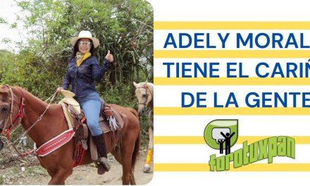 ADELY MORALES TIENE EL CARIÑO DE LA GENTE