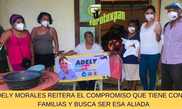 ADELY MORALES REITERA EL COMPROMISO QUE TIENE CON LAS FAMILIAS Y BUSCA SER ESA ALIADA