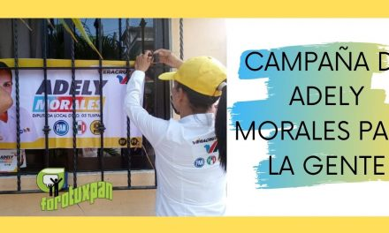 CAMPAÑA DE ADELY MORALES PARA LA GENTE