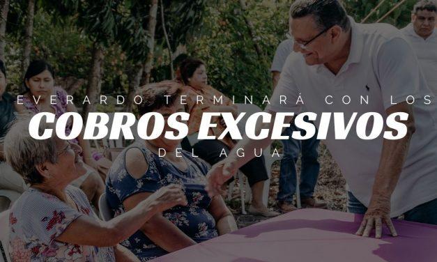 Everardo terminará con los COBROS EXCESIVOS DE CAEV