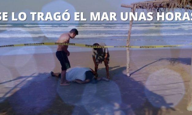 SE LO TRAGÓ EL MAR UNAS HORAS