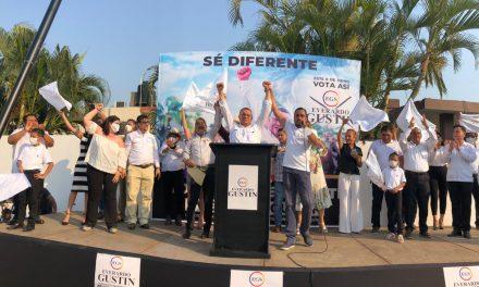 Arranca exitosamente campaña de Everardo Gustin encaminado al 6 de junio