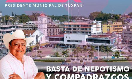 BASTA DE NEPOTISMO Y COMPADRAZGOS EN EL AYUNTAMIENTO DE TUXPAN, SE ABRIRAN + DE 100 ESPACIOS PARA PROFESIONISTAS TUXPEÑOS. ALEJANDRO ALARCON.
