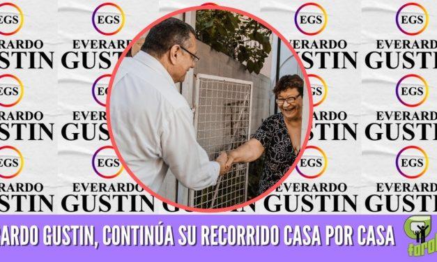 EVERARDO GUSTIN, CONTINÚA SU RECORRIDO CASA POR CASA