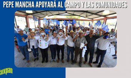 PEPE MANCHA APOYARÁ AL CAMPO Y LAS COMUNIDADES