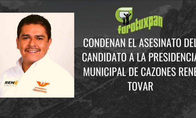 Asesinan a René Tovar, candidato de MC en Cazones