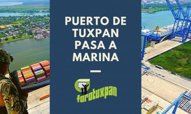 Puerto de Tuxpan pasa a MARINA