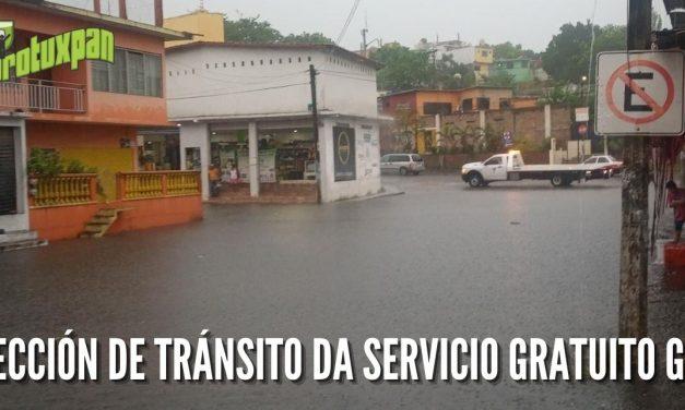 DIRECCIÓN DE TRÁNSITO DA SERVICIO GRATUITO GRÚA