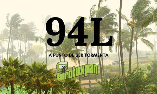 94L A PUNTO DE SER TORMENTA