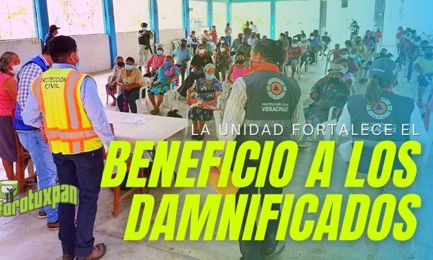 LA UNIDAD FORTALECE EL BENEFICIO A LOS DAMNIFICADOS