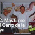 José Manuel Pozos Castro está más firme que el Cerro de la Atalaya