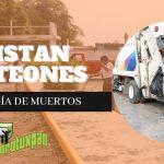 ALISTAN PANTEONES POR EL DÍA DE MUERTOS