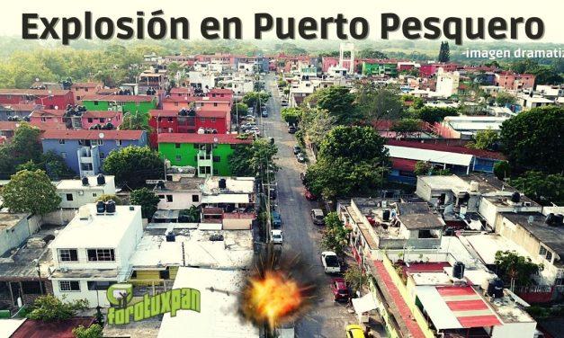 Explosión en Puerto Pesquero