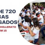 MÁS DE 720 BECAS ENTREGADOS AL TELE BACHILLERATO DEL KM 15