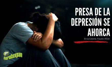 Presa de la depresión se AHORCA en la Fausto