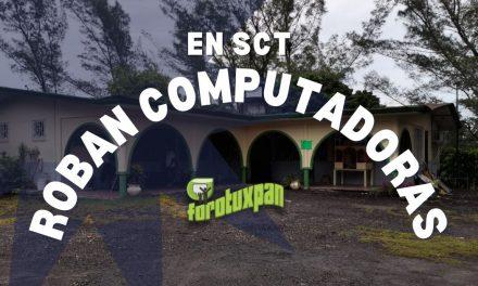 Roban COMPUTADORAS en SCT