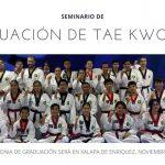 Seminario de Graduación de Tae Kwon Do